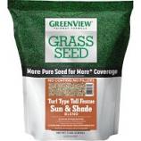 Greenview - Gv Ff Turf Type Tall Fescue S & Sh Blend - 7 Lb