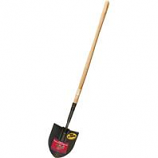 Bully Tool - Irrigation Shovel Wooden Handle -