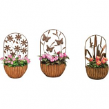Deer Park Ironworks - Wall Basket Variety Pack Display - Natural Patina