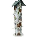 Woodstream Wildbird - Pine Metal Tube Bird Feeder - Pine -