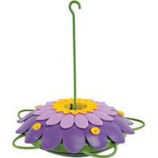 Natures Way - So Real 3D Flower Hummingbird Feeder - Purple - 16  Ounce