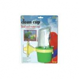 Jw - Small Animal/Bird - Jw Clean Cup Feed And Water Cup - Large