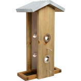 Natures Way Bird Prdts - Nature'S Way Vertical Feeder - Weathered Galva - 14X7X8.25
