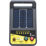 WOODSTREAM ZAREBA - ZAREBA 5-MILE SOLAR ENERGIZER-BLACK-5 MILE