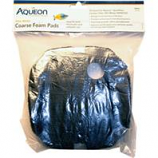 Aqueon Products-Supplies - Quietflow Coarse Foam Pad - Black - Small 2 Pack