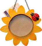 Songbird Essentials - Sunflower Mesh Feeder - Yellow