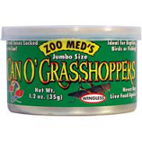 Zoo Med - Can O' Grasshoppers - 1.2 Ounce