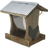 Audubon/Woodlink - Rustic Farmhouse Tall Hopper Fdr W Rooster - Natural