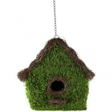Syndicate Sales - Birdhouse Square - Green - 12 In