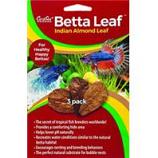 Caribsea - Betta Leaf Indian Almond Leaf - 3 Pack