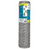 Garden Zone - Galvanized Hex Netting - 1X18 Inx50 Ft