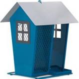 Woodstream Wildbird - Perky-Pet Aqua Seed Duo Bird Feeder - Blue -