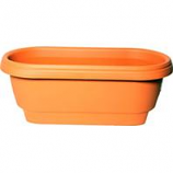 Bloem  - Deck Rail Planter - Terra Cotta - 24 Inch