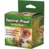 Songbird Essentials - Squirrel Proof Spring 1 - Silver - 48X3X3