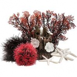 Oase - Aquatics - Biorb Easy Decor Kit - Red Forest - 15L
