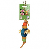 A&E Cage Company - Happy Beaks Bagels Foot Toy - Multicolored