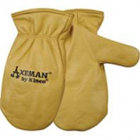 Kinco International - Axeman Lined Leather Mitt - Tan - Extra Large
