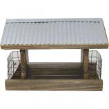 Audubon/Woodlink - Rustic Farmhouse Ranch Feeder W/Suet - Natural