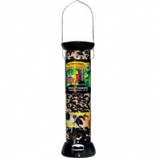 Droll Yankees - Onyx Clever Clean Sunflower Feeder - Black - 12h