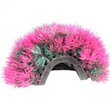 Poppy Pet - Moss Cave Hideout Purple/Red - Purple/Red - 4 Inch