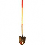 The Ames Company - Long Handle Round Point Shovel #2 Ash Handle - Red - 60.25 In