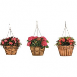 Deer Park Ironworks - Hanging Basket Variety Pack Display - Natural Patina - 16In