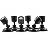 Oase - Living Water - Oase Lunaled Mini Pond Lights Set - Black - 6 Piece