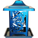 Apollo Investment Holding - Homestead Monarch Seed Feeder - Blue - 5.5 Lb