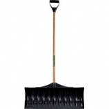 The Ames Company Snow  P - Poly Snow Pusher - Black - 30 Inch