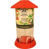North States Industries - Village Collection Gazebo Bird Feeder - Red - 2.25 Lb Cap