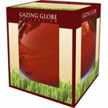 Alpine Corporation - Glass Gazing Globe - Red - 10 Inch