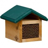 Welliver Outdoors - Mason Bee House Cedar - Natural/Green -