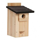 Natures Way - Bluebird House With Viewing Window - Cedar - 12X7.5X8.125 In