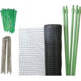 Tenax Corporation - Do It Yourself Deer Net Kit - Black - 7X100 Ft