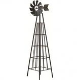 Panacea Products - Windmill Obelisk - Black - 72 Inch