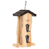 Natures Way - Vertical Wave Feeder - Cedar - 2 Quart