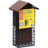 Classic Brands - Wb - Stokes Four Cake Suet Buffet - Brown -