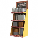 Panacea Products - Rustic Farmhouse Tins Assortment Loaded Display - Assorted - 54 Piece