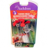 Audubon/Woodlink - Feeder Hummingbird Hand Held - Red / Clear - 3 Ounce