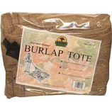 Eaton Brothers  - Leaf Tote Burlap Square - Brown - 10 Ft X 10 Ft