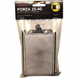 Aquatop Aquatic Supplies - Forza Replacement Filter With Activated Carbon - Black - 40 Gallon