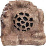 Alpine Corporation - Solar Bluetooth Enabled Rock Speaker - Brown - 11 Inch