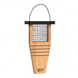 Natures Way - Tail-Prop Suet Feeder - Bamboo - 14X7.875X3 In
