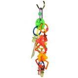 A&E Cage Company - Happy Beaks Spinners And Pacifiers Toy - Multicolored