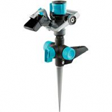 Fiskars Brands - Watering - Hybrid Impact Sprinkler With Step Spike -