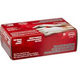 Boss Manufacturing - Disposable 3 Mil Powdered Latex Glove - White - Small 100 Ct