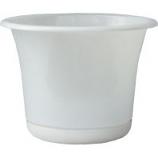 Bloem - Expressions Planter - Casper White - 10 Inch
