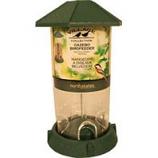 North States Industries - Village Collection Gazebo Bird Feeder - Green - 2.25 Lb Cap