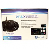 Current USA - Eflux Wave Pump Kit Loop Compatible - Black - 2100 Gph