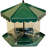 Apollo Investment Holding - Mini Triple Bin Party Seed Feeder (No Hardware) - Green - 5.5 Lb